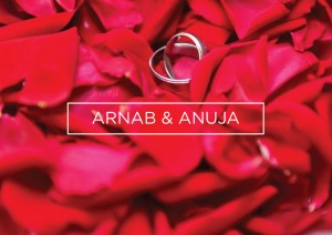 Arnab and Anuja- The Ring Ceremony